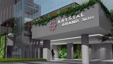 Fachada Krystal Grand Suites Insurgentes Cidade do México