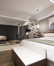 Quarto Krystal Grand Suites Insurgentes Cidade do México